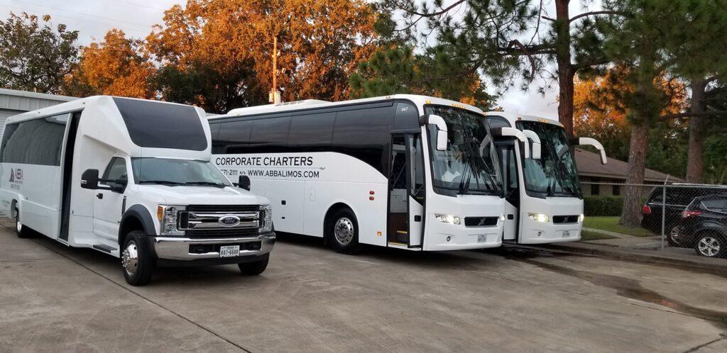 Houston TX Charter Bus
