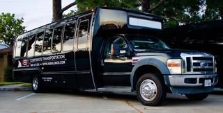 Houston TX bus shuttle