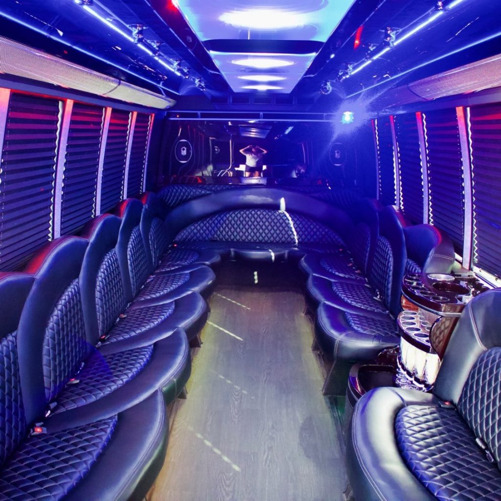 Houston TX birthday party bus