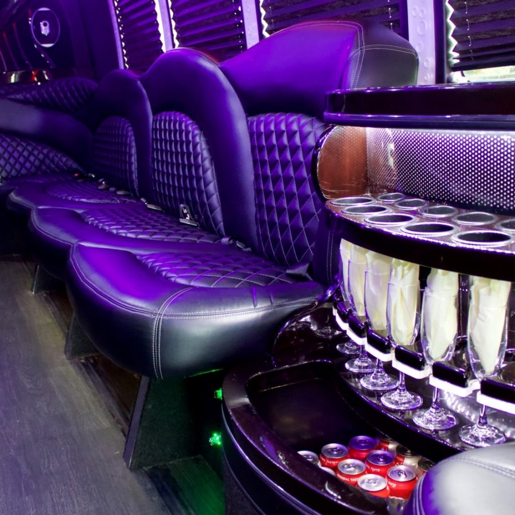party bus cost Houston TX